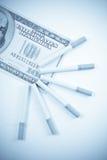 Die Unkosten des Rauchens Stockfotografie