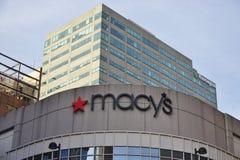 Die Unternehmenszentrale von Macy's in Cincinnati stockbilder