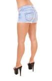 Die Unterseite und die Beine der Frau lizenzfreie stockfotografie