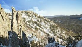Die Ural Berge Lizenzfreies Stockfoto