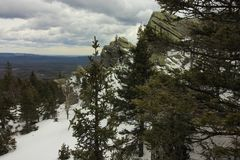 Die Ural Berge Nationalpark Taganay E Russland Stockbild