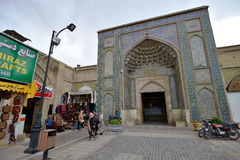 Die Vakil-Moschee in Shiraz, der Iran Lizenzfreie Stockfotos