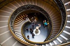Die Vatikan-Museen Stockbilder