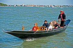 Die Venedig-Lagune Lizenzfreies Stockfoto