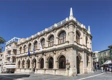 Die venetianische Loggia auf 25. von August-Straße Iraklio, Kreta lizenzfreies stockfoto