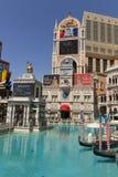 Die venetianischen unterzeichnen herein Las Vegas, Nanovolt am 27. April 2013 Stockfoto