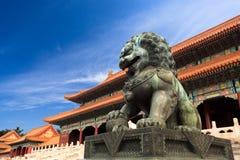 Die verbotene Stadt, China lizenzfreies stockfoto