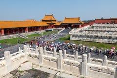Die verbotene Stadt, China Lizenzfreie Stockfotos