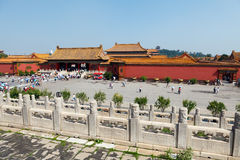 Die verbotene Stadt, China Stockfotos