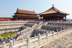 Die verbotene Stadt, China Lizenzfreie Stockfotografie