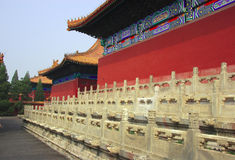 Die verbotene Stadt, Peking Lizenzfreies Stockbild