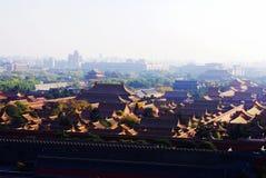 Die Verbotene Stadt unter Sonnenschein Lizenzfreies Stockfoto