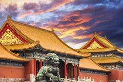 Die Verbotene Stadt von Peking Stockfotografie