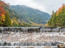 Die Verdammung von unterem Ausable See im Adirondacks Stockbilder