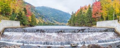 Die Verdammung von unterem Ausable See im Adirondacks Lizenzfreie Stockbilder