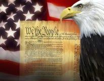 Die Vereinigten Staaten von Amerika - Patriotismus Lizenzfreie Stockfotos