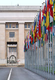 Die Vereinten Nationen Lizenzfreies Stockbild