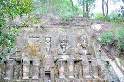 Die Verengung der Nachahmung von Abu Simbel Temple India Lizenzfreie Stockfotografie