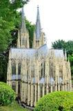 Die Verengung der Nachahmung von Köln-Kathedrale Deutschland Lizenzfreies Stockfoto