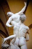 Die Vergewaltigung der Sabine Womens 1574-82 durch Giambologna Stockbild