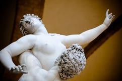 Die Vergewaltigung der Sabine Womens 1574-82 durch Giambologna Stockfoto