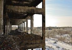 Die verlassene Anlage   Stockfotos