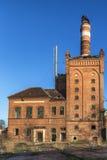Die verlassene Fabrik Stockfotografie