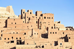 Die verstärkte Stadt von AIT Ben Haddou nahe Ouarzazate Marokko Lizenzfreie Stockfotografie