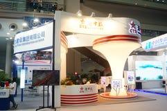 Die vierte Sitzung der China-Nächstenliebe-Projekt-Austausch-Ausstellung in Shenzhen-Versammlung und der Ausstellungs-Mitte Stockbild