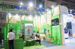 Die vierte Sitzung der China-Nächstenliebe-Projekt-Austausch-Ausstellung in Shenzhen-Versammlung und der Ausstellungs-Mitte Lizenzfreie Stockfotografie