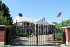 Villa-Lincoln des Gouverneurs, Nebraska Lizenzfreie Stockbilder