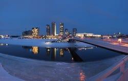 Die vilnius-Stadt - Litauen. Lizenzfreie Stockfotos