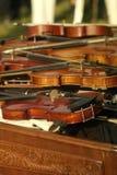Die Violine Stockbild