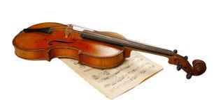 Die Violine Lizenzfreie Stockbilder