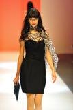 Die vorbildliche Präsentation entwirft von Alldressedup bei Audi Fashion Festival 2011 Lizenzfreies Stockbild