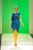 Die vorbildliche Präsentation entwirft von Alldressedup bei Audi Fashion Festival 2011 Stockfotos