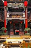 Die Vorhalle des alten Gasthauses Lizenzfreies Stockbild