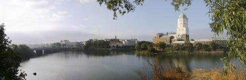Die Vyborg Festung? Stockfoto