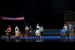 Die Wählerliste Jiangxi-Oper eine Laufgewichtswaage Stockfotografie