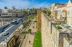 Die Wälle von Jerusalem Lizenzfreies Stockfoto