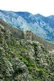 Die Wände der Bergfestung Lizenzfreie Stockbilder