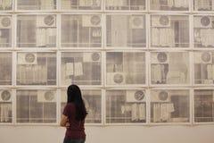 Die Wände der Kunst Lizenzfreie Stockbilder