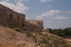 Die Wände von Antipatris stockfotos