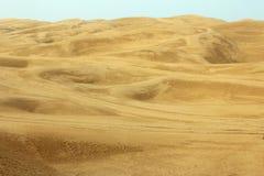 Die Wüste Lizenzfreie Stockfotografie