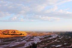 Die Wüste Stockbild