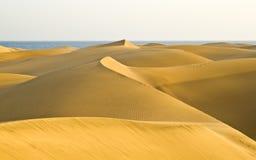 Die Wüste in Gran Canaria Lizenzfreie Stockfotografie