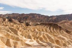 Die Wüste von Death Valley stockbild