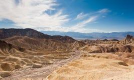 Die Wüste von Death Valley stockbilder