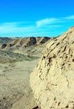 Die Wüstenhügel um De Santa Clara, Sonora, Mexiko EL Golfo Lizenzfreie Stockbilder