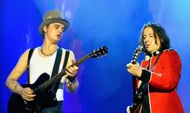 Die Wüstlinge (englischer Rockband) führt an FLUNKEREI Festival durch Lizenzfreies Stockbild